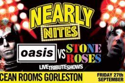 Oasis vs Stone Roses – Oceanroom